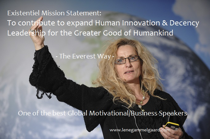 Lene Gammelgaard - One of the best Motivational Speakers - Ever